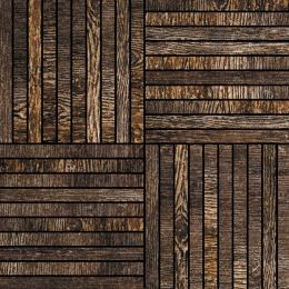 African Wenge Mosaic