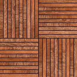 Scandinavian Red Wood Mosaic