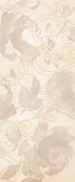 Inserto Bloom beige Декор 30,5x72,5