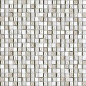 Imperia Mix SILVER White мозаика 1,5x1,5 (29,8х29,8)