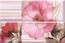 COMPOSICION ROMANTIQUE FLOWER BURDEOS 01 30*45