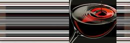 DECOR RED WINE 02 15*45