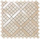 Мозаика Atlas Concorde Marvel Pro Travertino Alabastrino Diagonal Mosaic 30,5x30,5 см