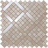 Мозаика Atlas Concorde Marvel Pro Travertino Silver Diagonal Mosaic 30,5x30,5 см