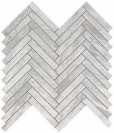 Мозаика ATLAS CONCORDE MARVEL STONE Bardiglio Grey Herringbone Wall 30,5х30