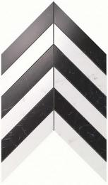 Мозаика ATLAS CONCORDE MARVEL STONE Chevron Cold Wall 25х30,5