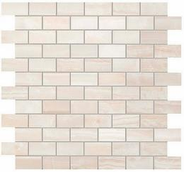 Мозаика Pure White Brick Mosaic Пьюр Вайт Брик Мозаика