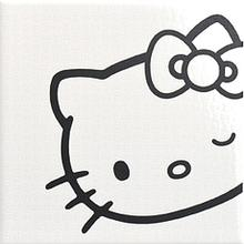 Декор Hello Kitty Classic Expressions Black 20х20 см
