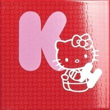 Декор Hello Kitty School Letter 20x20 см