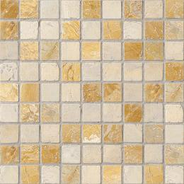 Colori Viva Natural Stone Mos.Nat./Polished Golden Travertin 30.5х30.5