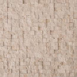Colori Viva Natural Stone Mos.Turkish Travertine Split 30.5х30.5