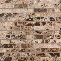 Colori Viva Natural Stone Strips Polished Dark Emperador 30.5х30.5