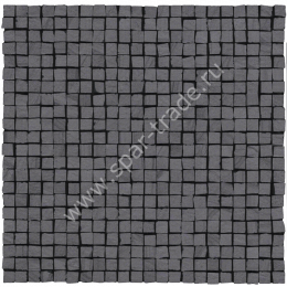 Мозаика Mos. Opus Micro Single 3 Black Burattato Rett. 30x30