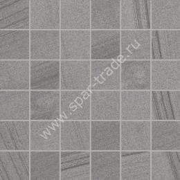 Мозаика Mos. Quad. Single 2 Grey Rett. 30x30