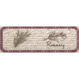 Decor Clasical Herbs Rosemary 10x30