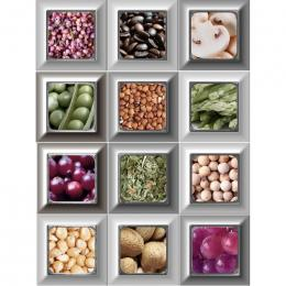 Decor Cube Cold Kitchen 10x30 (mix 4 pz)