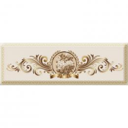 Decor Medallion Flower 03 10x30