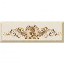 Decor Medallion Flower 04 10x30