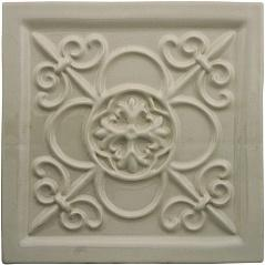 ADEX STUDIO Декор Relieve Vizcaya Graystone Размер 14,8x14,8 см
