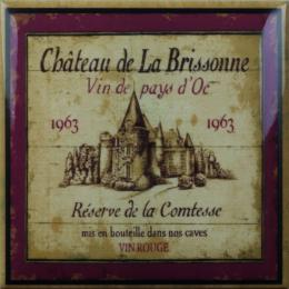 Wine Label Decors 15x15