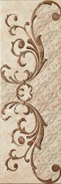 Декоративный элемент Olympo Beige Decor 25,1x75,6
