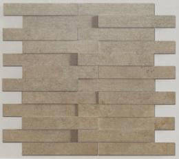 Evolution vison striato mosaico brick	G-1822	 	 (11,71''x11,02'' - 29'75x28 cm)