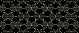 Gold Flow Noir 25.00 x 60.00