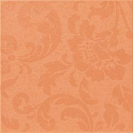 Декор FANCY ORANGE DAMASK PALE, 20x20