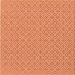 Декор FANCY ORANGE PATTERN SHINY, 20x20