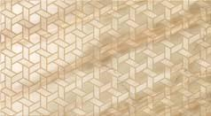 S.M. Elegant Honey Hexagon 31.5x57 - 12 3/8