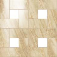 "S.M. Elegant Honey Mosaic Lap 45x45 - 17 3/4""x17 3/4"""