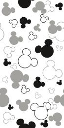 Disney Ears R3060 Black 30x60