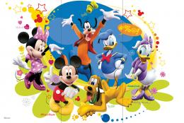 Mickeys Friends 3A-V R3060 90x60