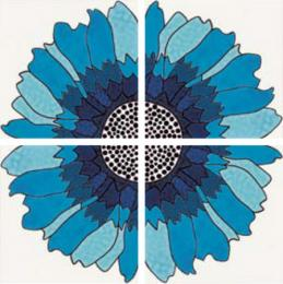 Absolute Pannello Daisy Blu 40х40 (Арт.: 54043)
