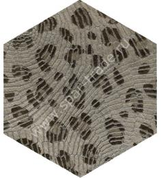 Декоративный элемент Docklands Hexagon Inserto Leopard S/1 24x27,7