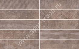 Универсальная плитка Docklands Freeport Brownwall (10 soggetti mx) 8,6x35
