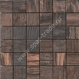 Мозаика Wild Wood Mosaico Tessera Brown 30x30