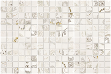 Мозаика Carillon Mosaico White set 6 pz. 30x45