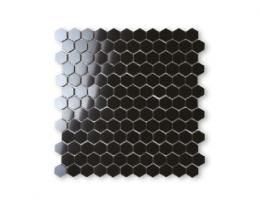 Фарфоровая мозаика HONEYCOMB 25x29/PC 310x295 BABY HEXAGON BLACK