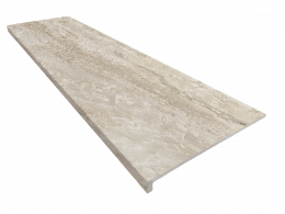 Ступень клинкерная Exagres Marbles Travertino Peldano Recto 33x120