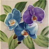 Декоративный элемент Orquideas Malva Placa Decor 20 x 20