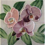Декоративный элемент Orquideas Rosa Placa Decor 20 x 20