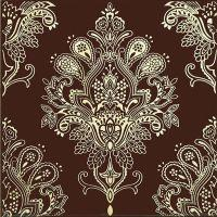 Декоративный элемент Paisley Chocolate Decor 20 x 20