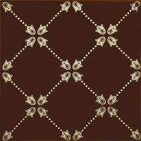 Декоративный элемент Paisley Chocolate NET Decor 20 x 20