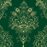 Декоративный элемент Paisley Verde Botella Decor 20 x 20
