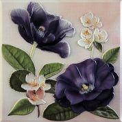 Декоративный элемент Violetta Morado Placa Decor 20 x 20
