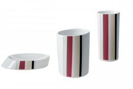 Set Accessori Tratto Bordeaux