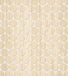 Мозаика	ROMA TRAVERTINO ROUND MOSAICO	29,5X32,8