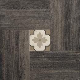Brown Deco 50x50