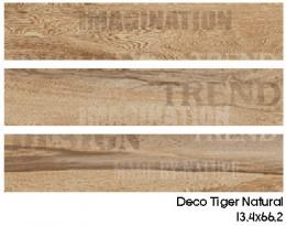 DECO TIGER NATURAL 13,4x66,2